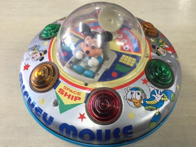 昭和レトロ ミッキー・マウスのスペースシップ