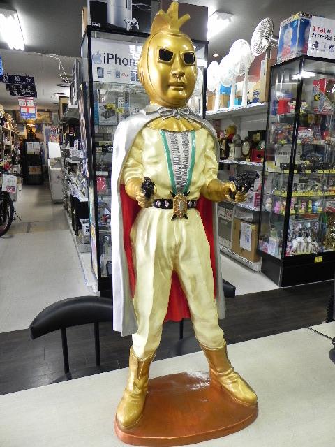 七色仮面の特大フィギュア