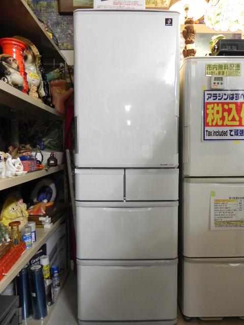 SHARP どっちもドア冷蔵庫 SJ-PW42W