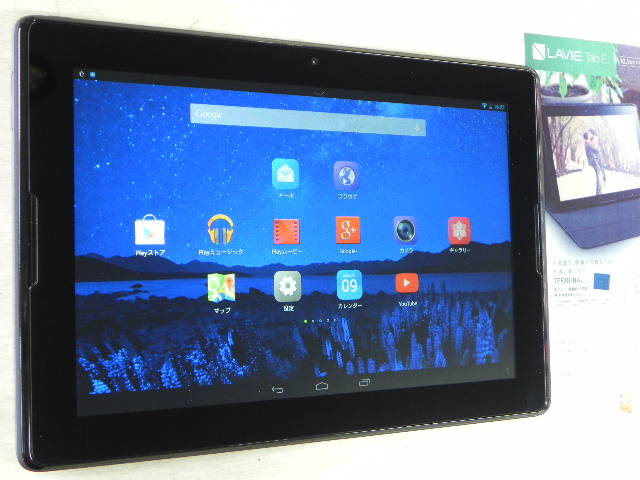 Androidタブレット NEC PC-TE510S1
