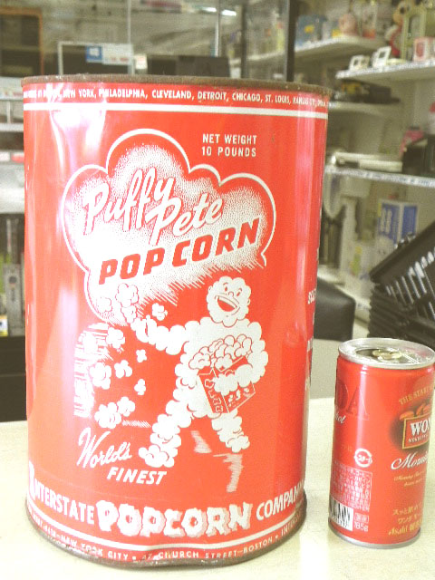 Puffy Pate ポップコーン缶(中身入り)
