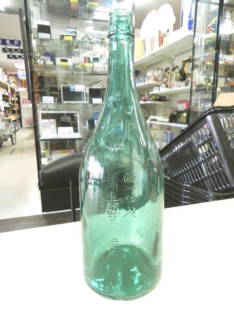 ご当地もの 蒲生郡のレトロな1升瓶
