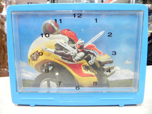 仮面ライダー置時計 Nintendo E-clock