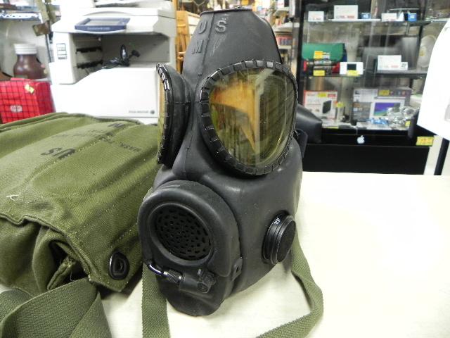 米軍装備品 未使用ガスマスク