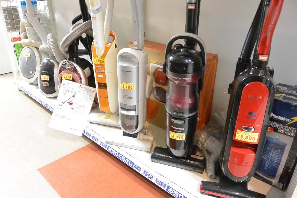 スティッククリーナー、サイクロン掃除機など