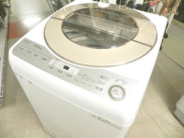 高年式の美品!!大容量 9kg洗濯機  SHARP ES-GV9B