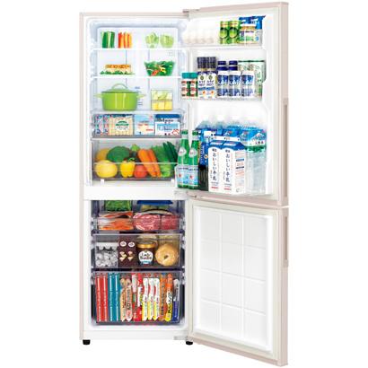 2人暮らしにお手頃な2ドア冷蔵庫 SHARP SJ-PD27A-C(ロゼベージュ)