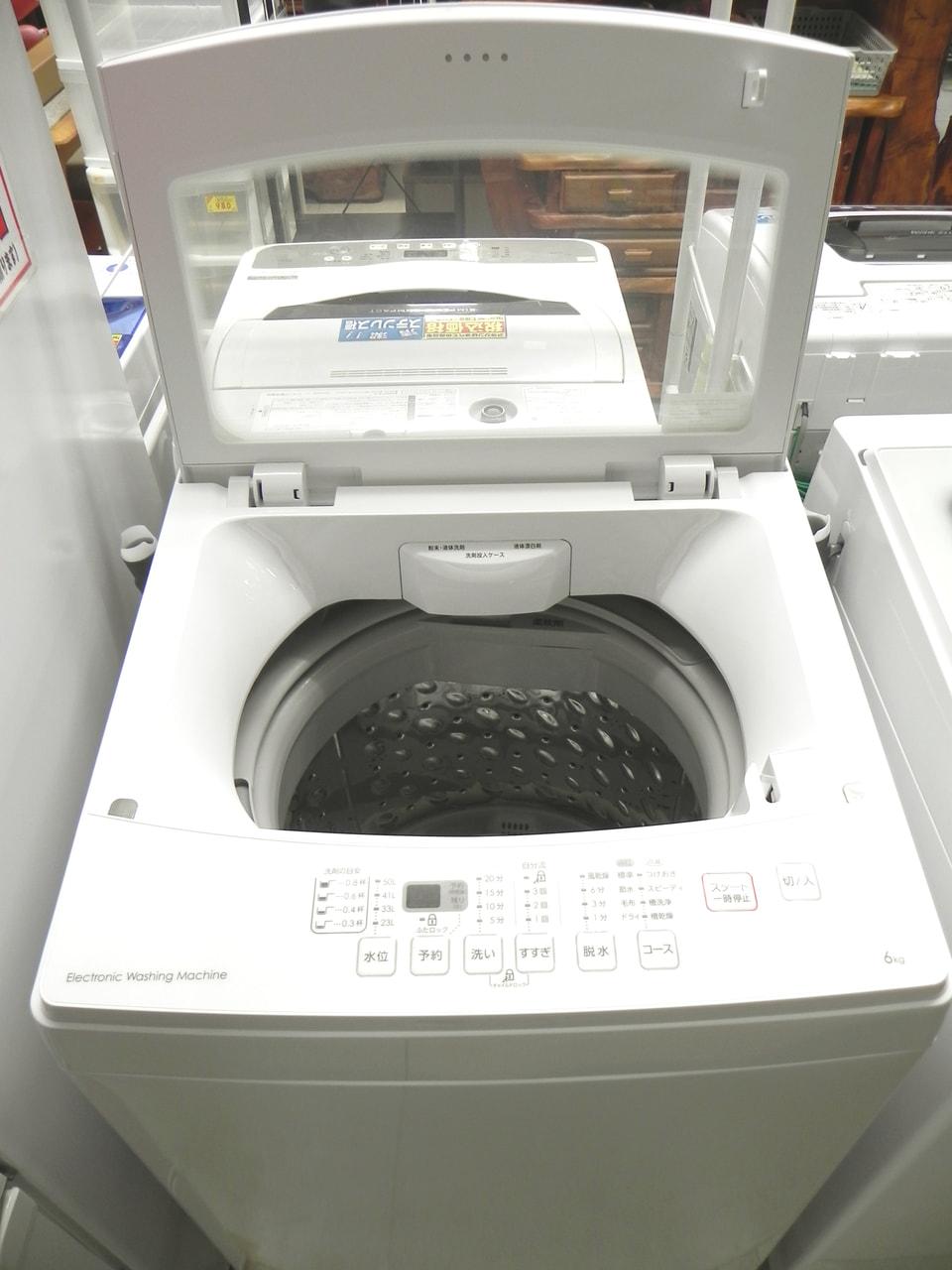 2019年製 6.0kg 洗濯機 NITORI NTR60