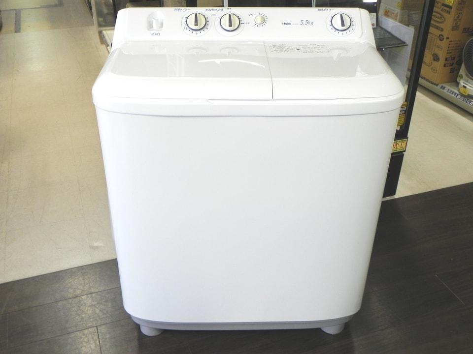 2槽式洗濯機 Hair JW-W55E