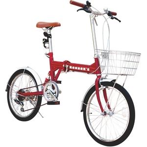 【新品未使用】20インチ6段変速の折畳み自転車